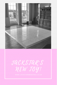 white led dancefloor jackstar weddings