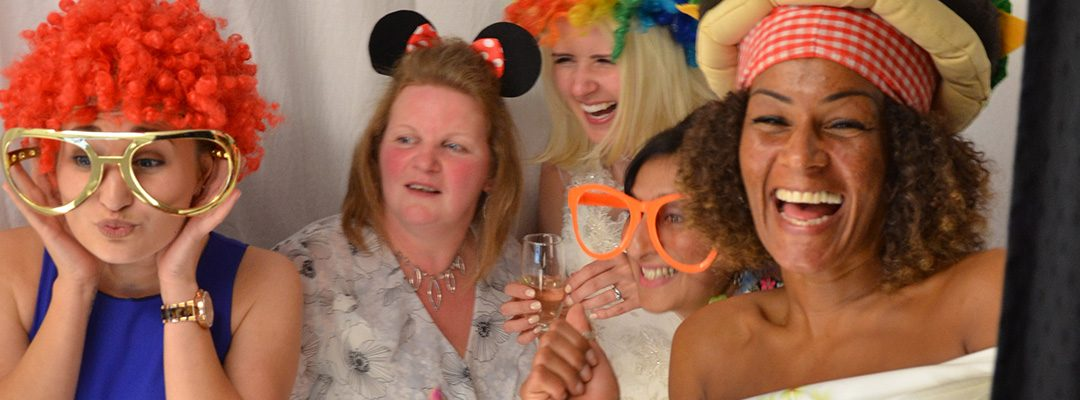 Photo Booth at Ashton Lodge Country House, Warwickshire