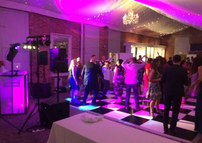 Wedding Dance Floor Lighting
