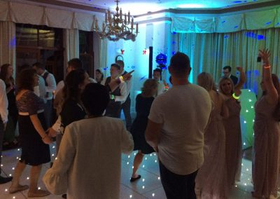 Wedding Lighting and Decor Dance Floor