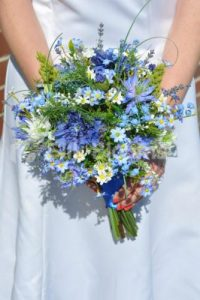 Silk Blooms Photography wedding bouquet