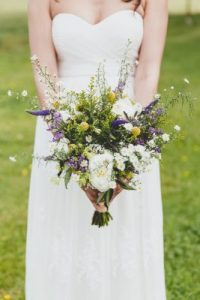 Wedding Bouquet Dress