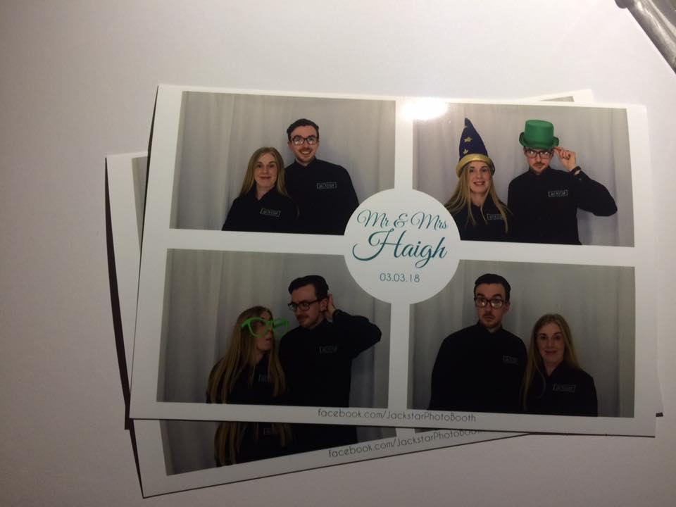 Photo Booth at Carriage Hall, Nottinghamshire