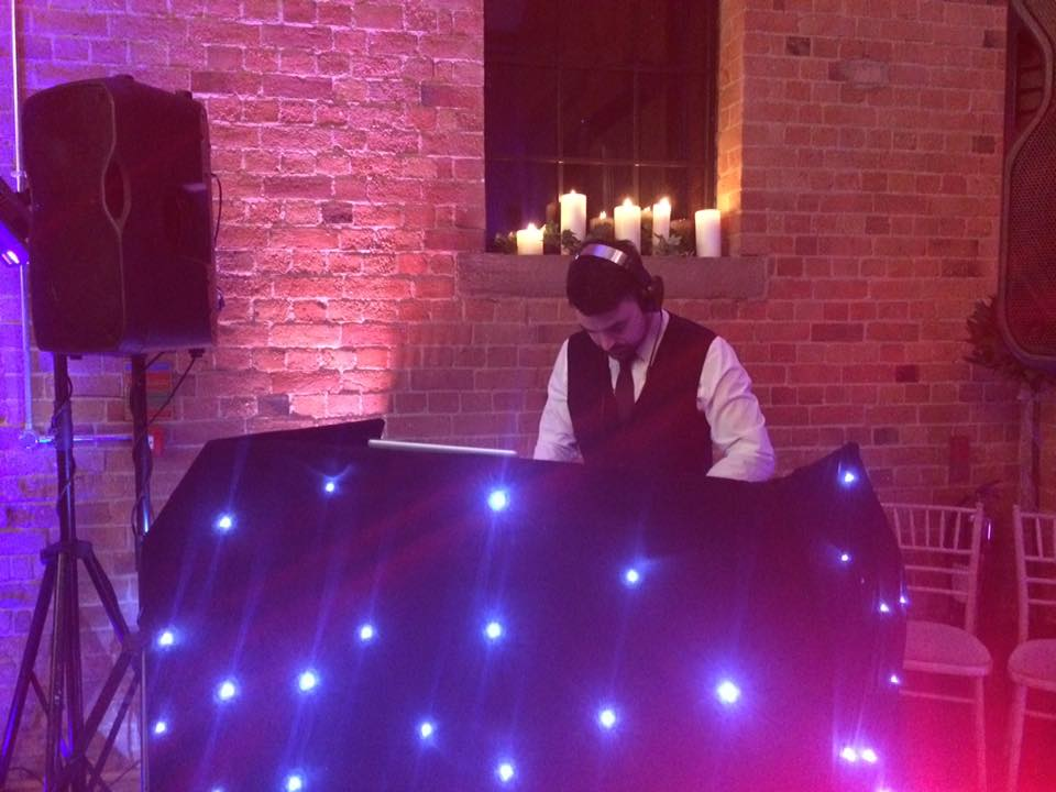 Wedding DJ Tom at the Carriage Hall