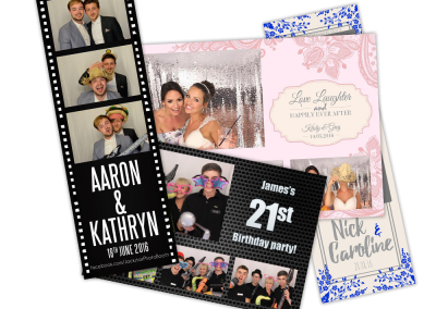 photo booth print examples