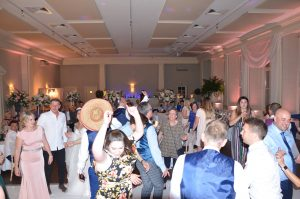 Wedding DJ Jack filling the dance floor!