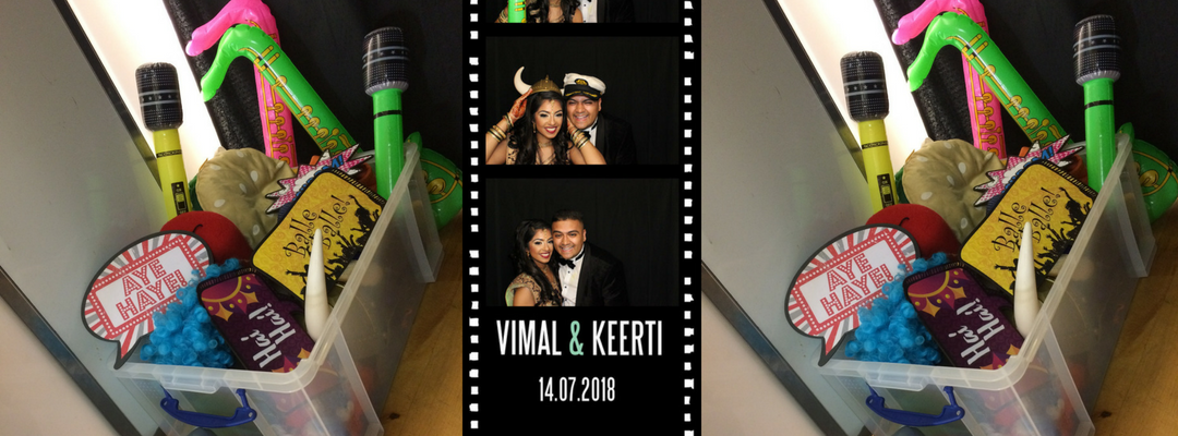 Vimal & Keerti – Photo Booth Hire Leicester