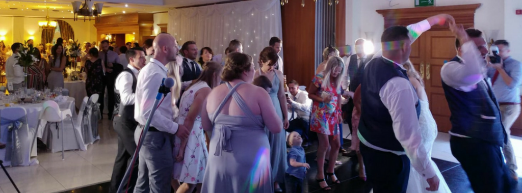 Wedding DJ Jack at the Quorn Country Hotel