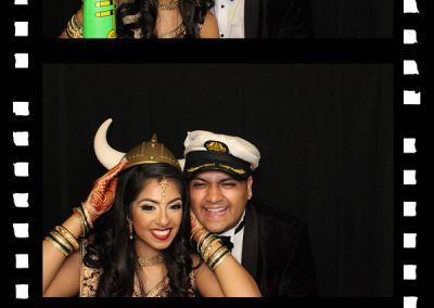 Vimal & Keerti in the Photo Booth!