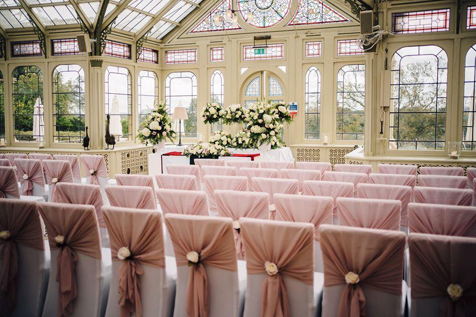 Wedding ceremony at Kilworth House Hotel