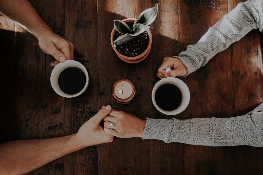honeymoon planning over coffee 1
