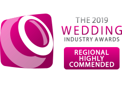 Wedding Industry Awards Highly Commended