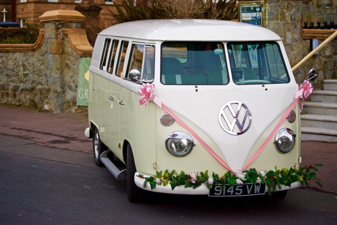 Wedding transport - VW Campervan hire
