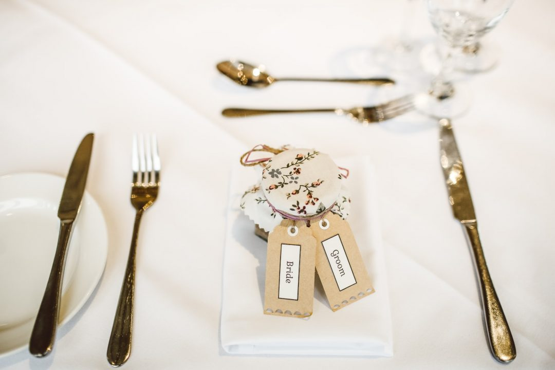 Ideas for personalised wedding favours