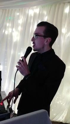 Wedding DJ Host Introducing Bride and Groom