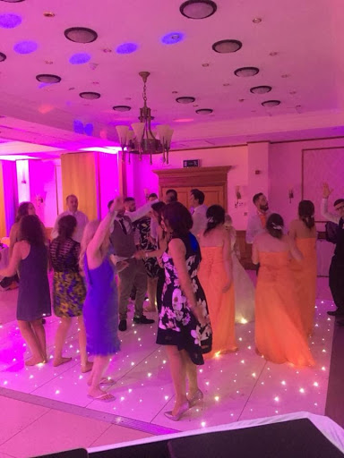 All Day Wedding DJ with Dance Floor in Leicester