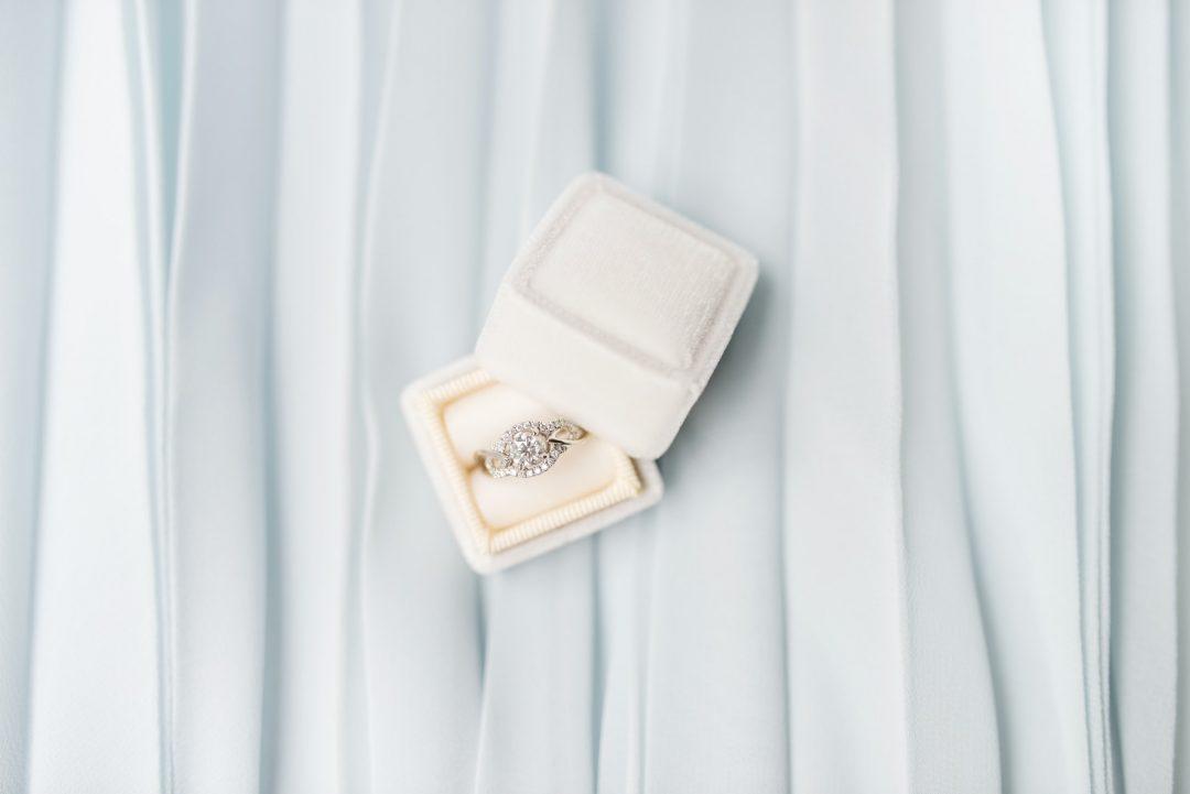 Diamond Engagement Ring in White Box