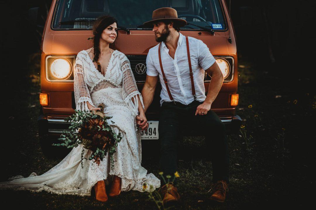 Boho Wedding Styled Outdoor Photo Shoot