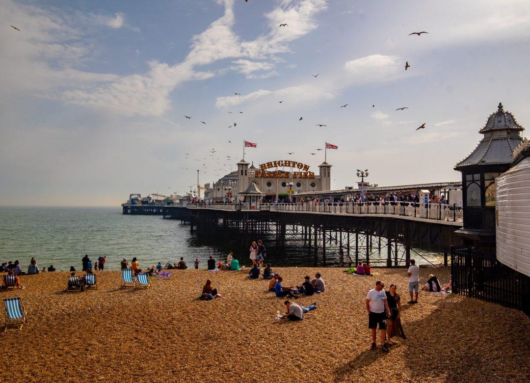 Sunny Brighton Pier hen weekend ideas