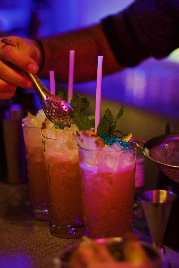 Cocktail masterclass hen party ideas