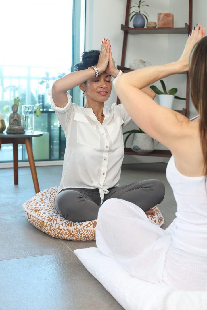 Yoga retreat relaxation