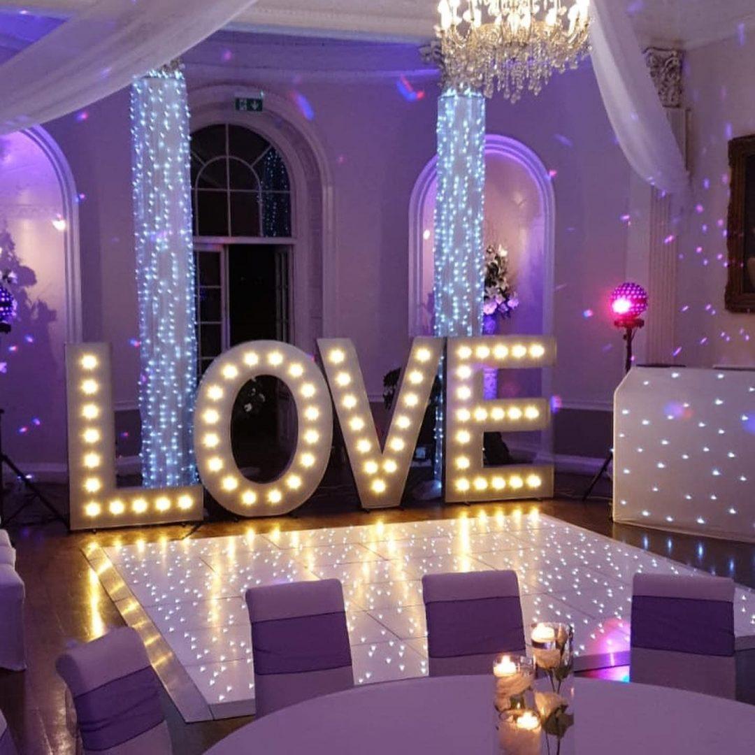 Colwick Hall Nottingham - Wedding DJ and Decor