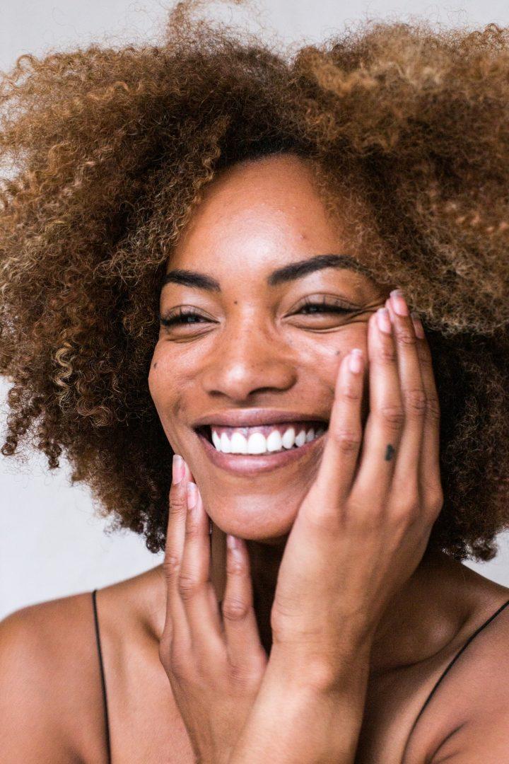 Natural skincare pre-wedding makeup